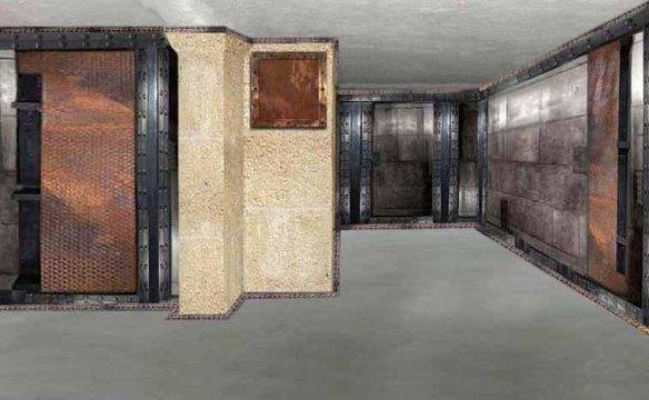 Décoration moderne appartement haussmannien murs métal et IPN style Eiffel