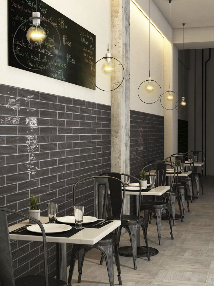 Murs en carrelage pour restaurant