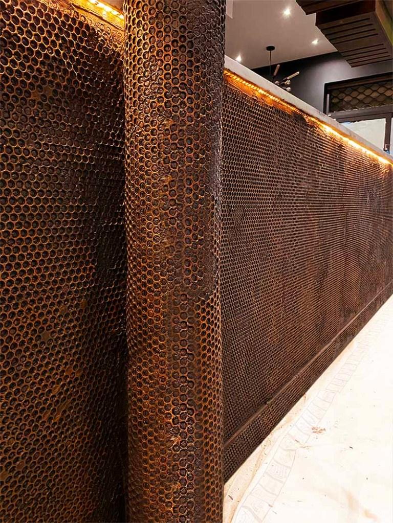 Décoration bar professionnel industriel