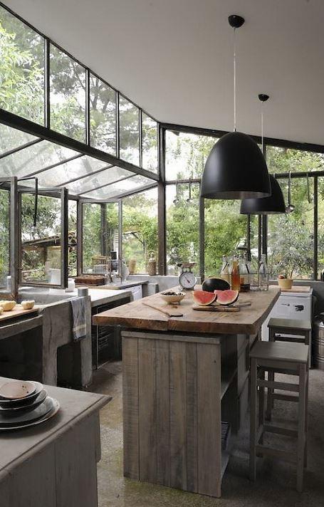 modern rustic industrial kitchen decor14612363164gkn8