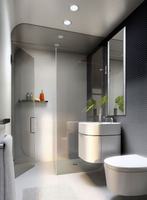 17 Small and Functional Bathroom Design Ideas | Decoration ...