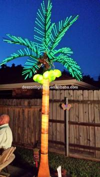 light up palm trees