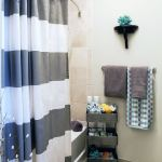 Grey Bathroom Shower Curtain Ideas