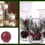 Glass Candle Holder Decoration Ideas