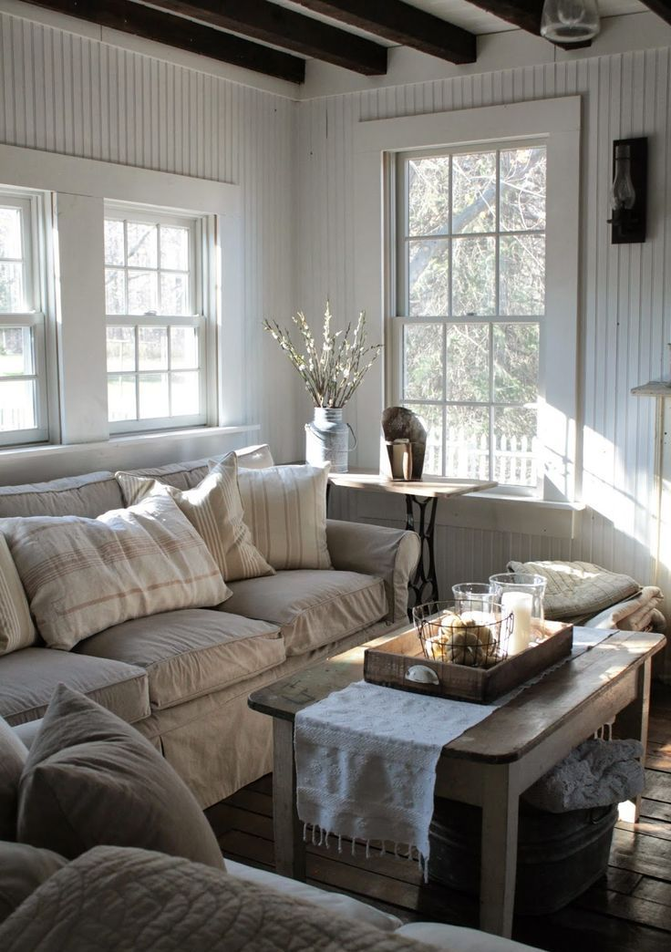 25 Farmhouse Living Room Design Ideas - Decoration Love