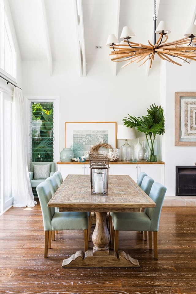 25 Tropical Dining Room Design Ideas - Decoration Love