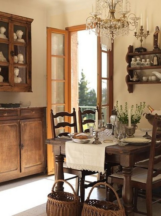 We may earn commission on some of the items you choose to buy. 25 Farmhouse Dining Room Design Ideas - Decoration Love