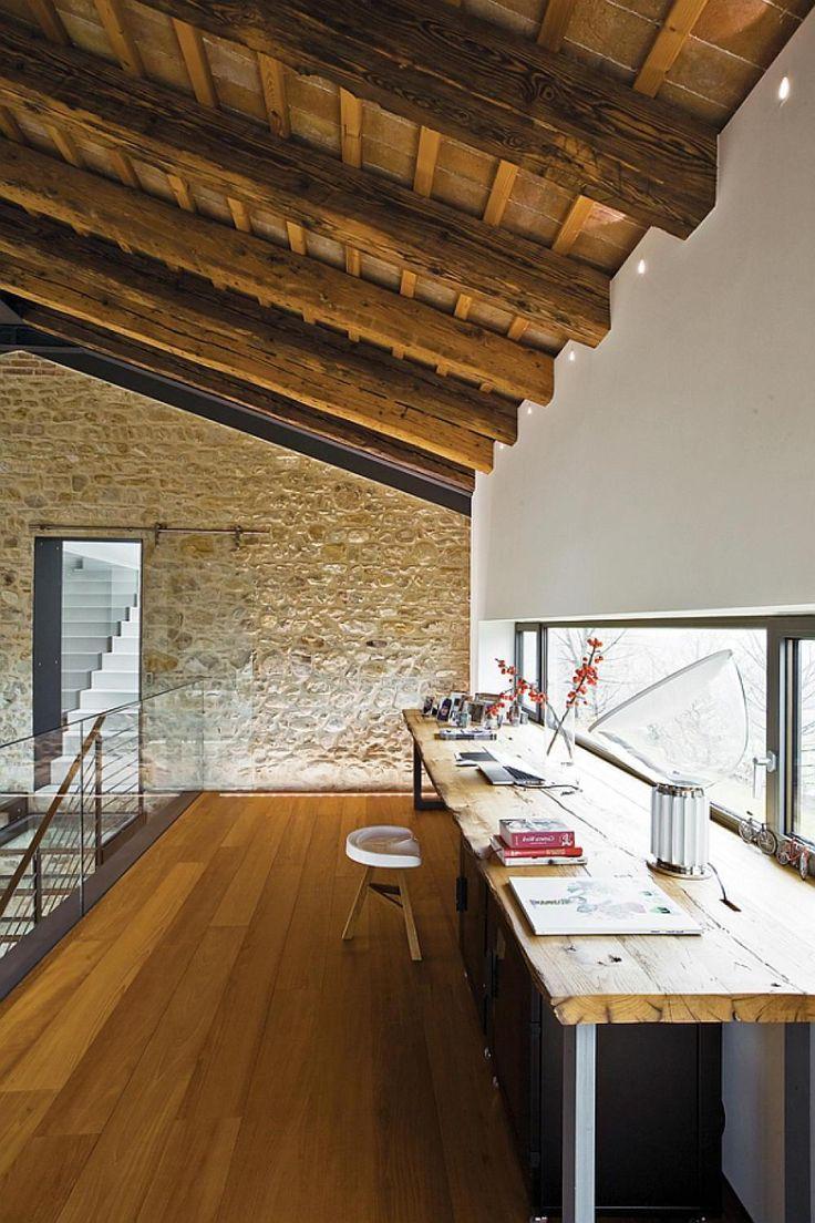 25 Farmhouse Home Office Design Ideas  Decoration Love