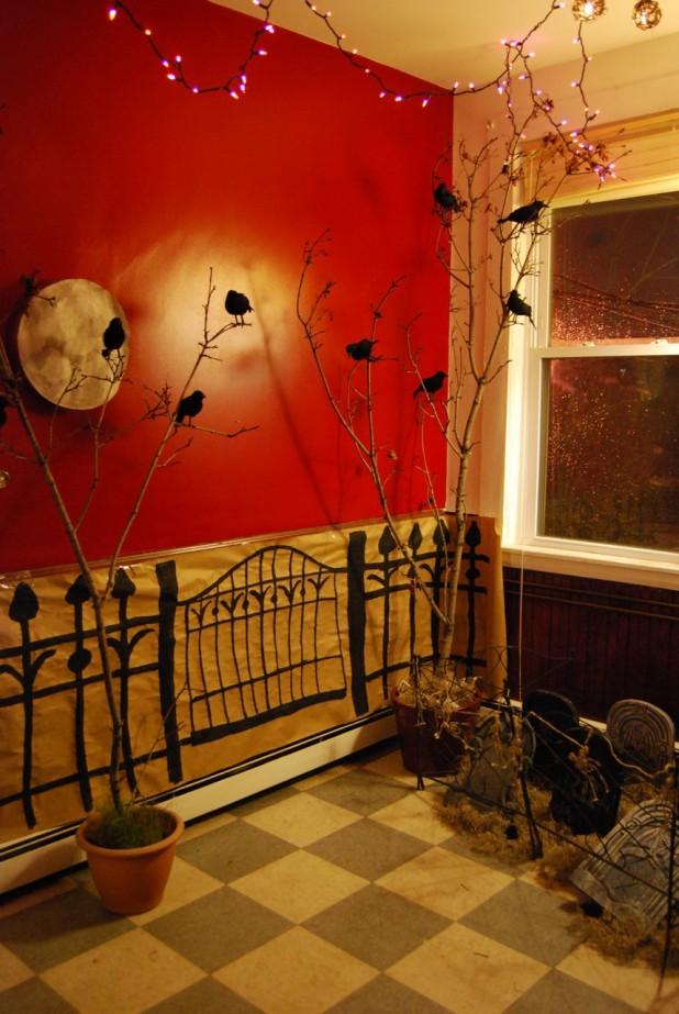 26 Stunning House Halloween Decorations Ideas  Decoration