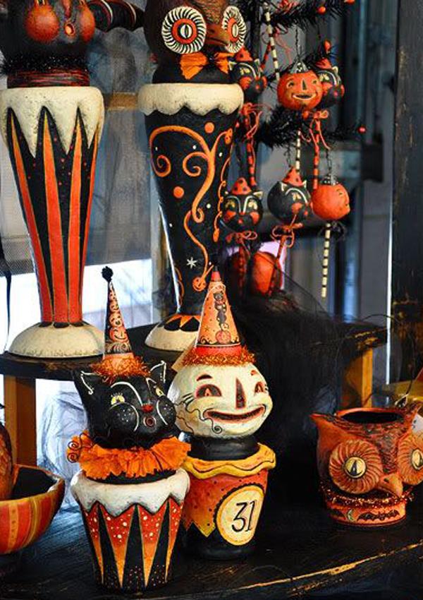 30 Cool Modern Halloween Decorations Ideas  Decoration Love