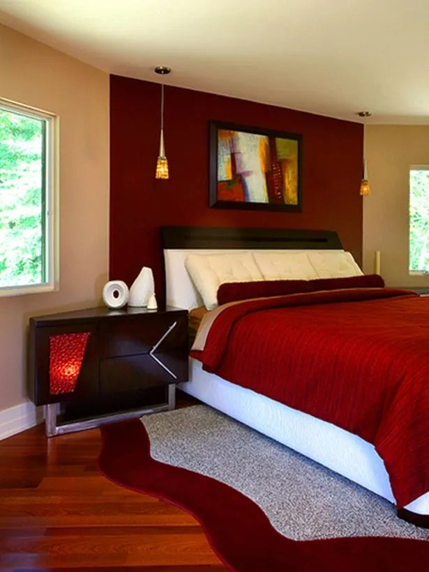 15 Incredible Red Bedroom Design Ideas - Decoration Love