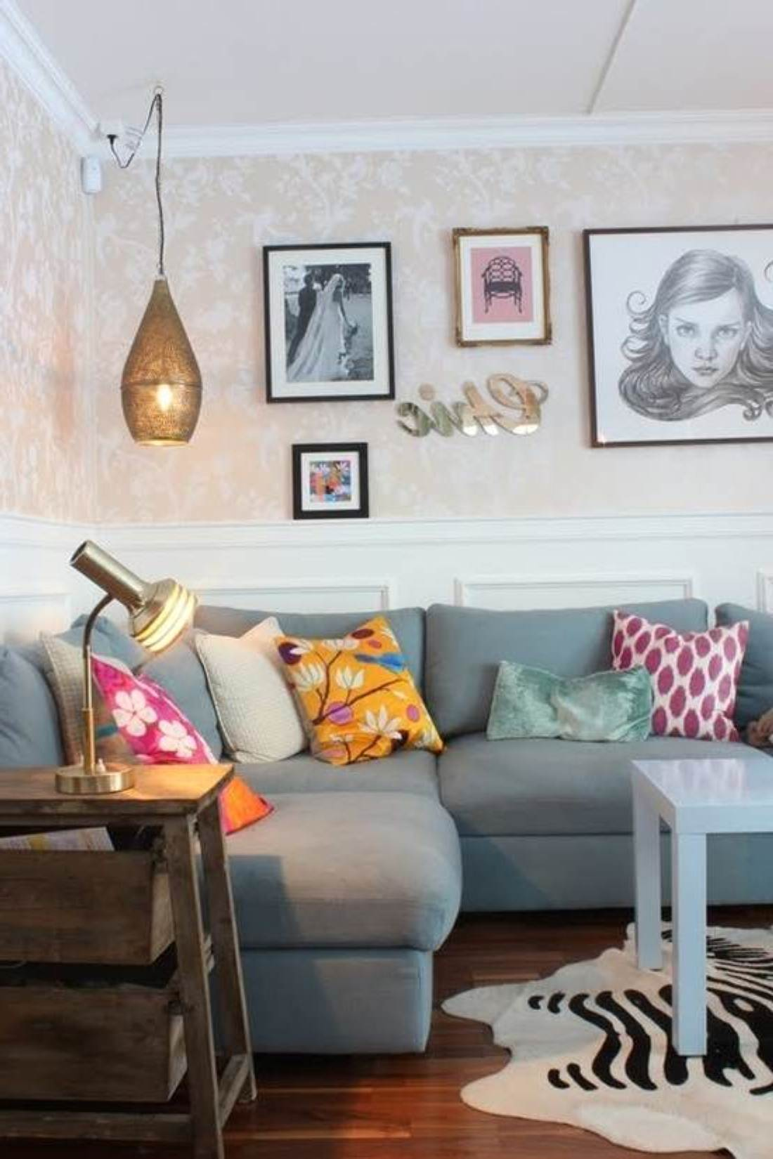 Decorating a small home might seem like a bit of a challenge at first. 30 Beautiful Apartment Living Room Design Ideas ...