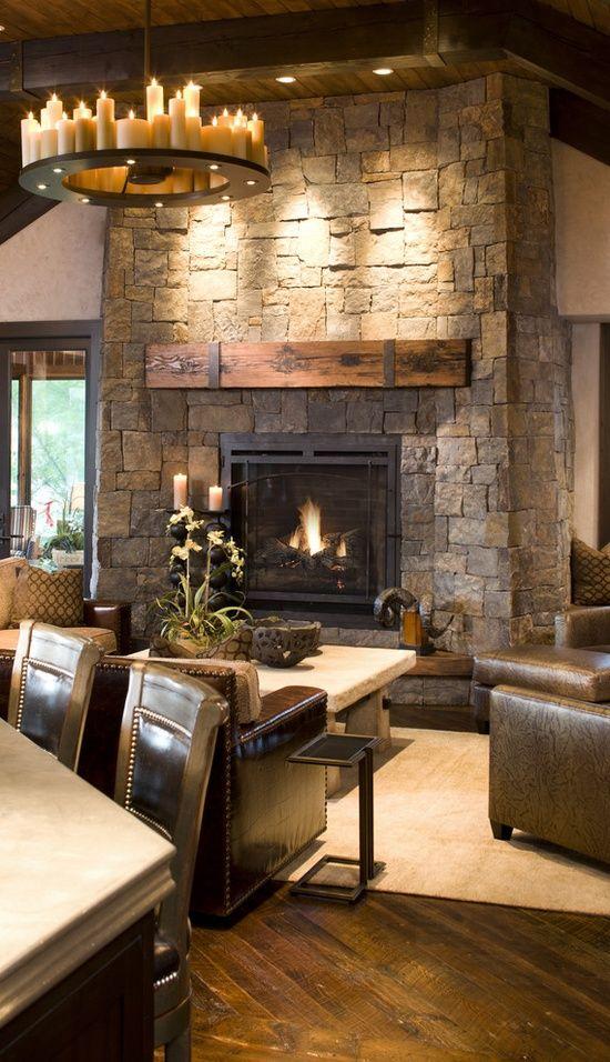 35 Gorgeous Rustic Living Room Design Ideas  Decoration Love
