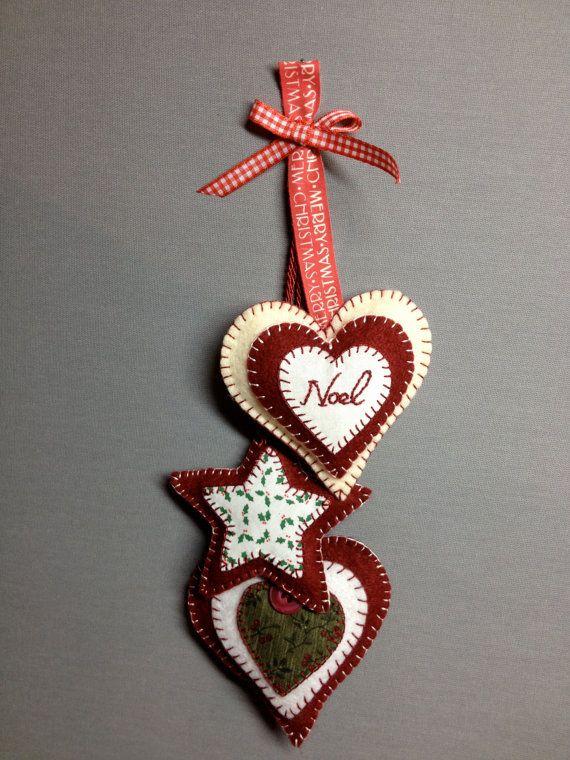 30 Beautiful Felt Christmas Decorations Ideas  Decoration Love