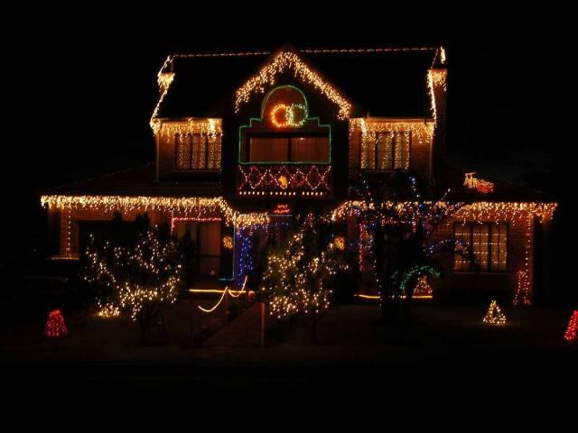 Outdoor Christmas Lights Decorations Ideas