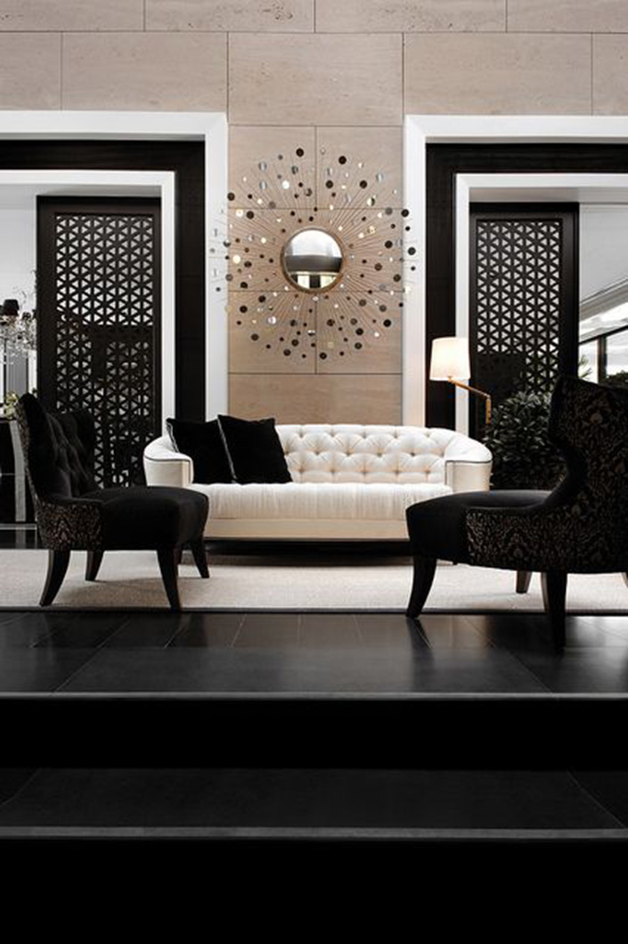 Check out the best in living room furniture with articles like how to tighten the arm on a reclining sofa, how to repair leaning recliners, & more! 25 Black Living Room Design Ideas - Decoration Love