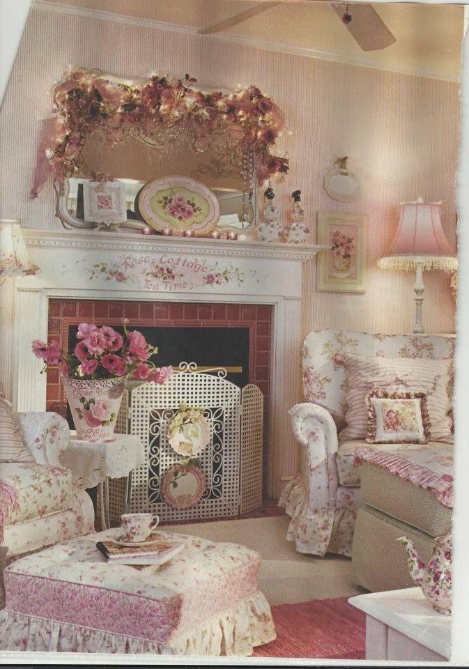 25 Dream Shabby Chic Living Room Design Ideas - Decoration ...