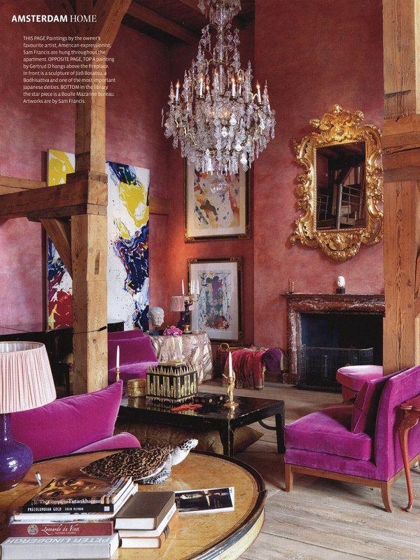 25  Purple Living Room Design Ideas  Decoration Love