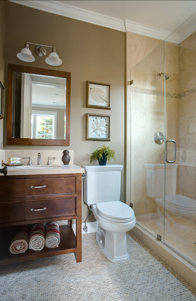 25 Beautiful Warm Bathroom Design Ideas Decoration Love