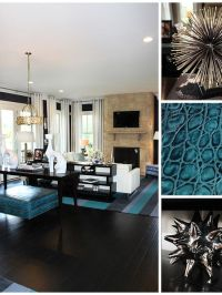 25 Teal Living Room Design Ideas - Decoration Love