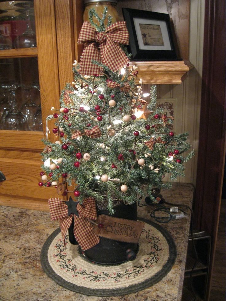 35 Country Christmas Tree Decorations Ideas  Decoration Love