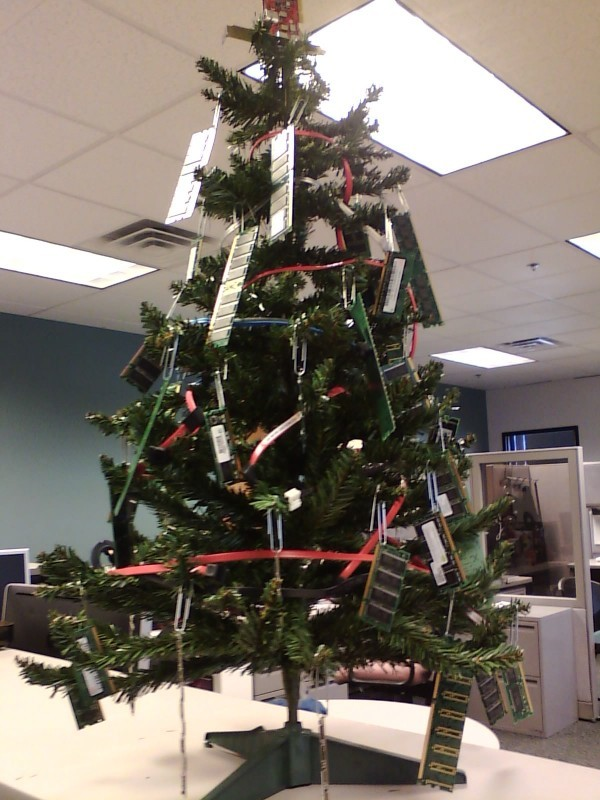 Christmas Paper Recycled Decorations Office