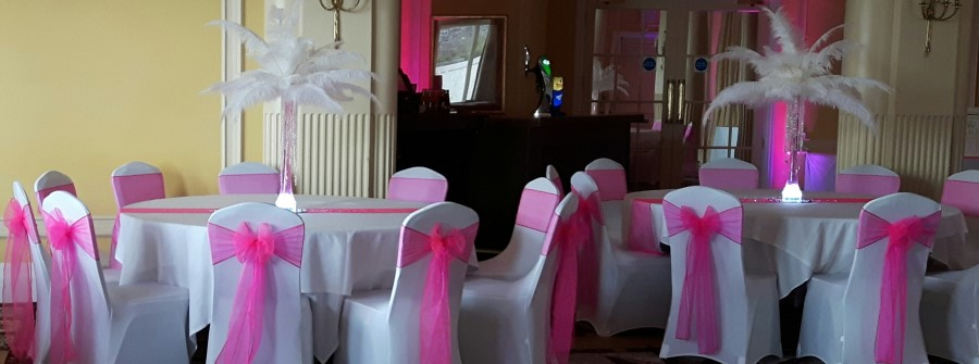 chair cover hire exeter wheelchair table covers wedding devon newton abbot black previous next