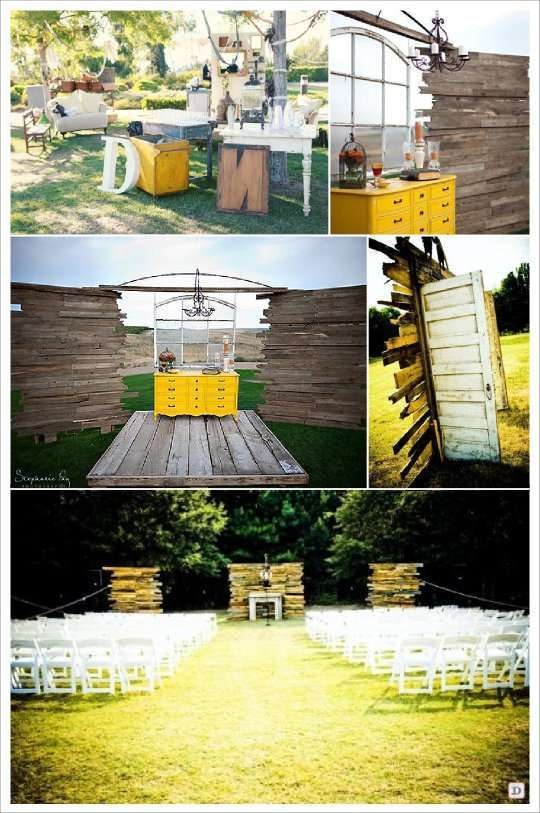 tendance outdoor decoration mariage en extrieur
