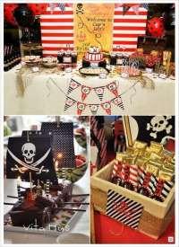 anniversaire thme pirate