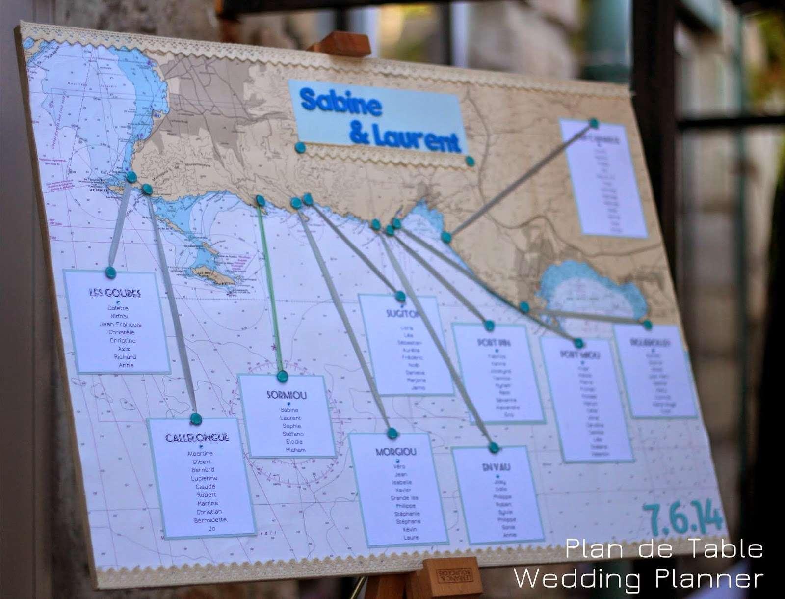 Deco mariage marin