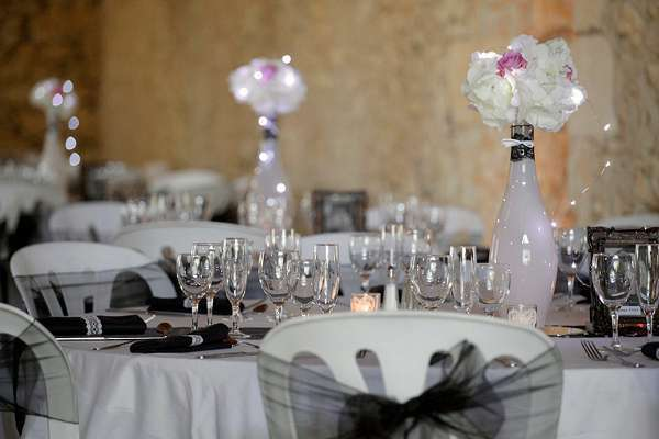 Decoration Mariage Retro Chic Real Weddings