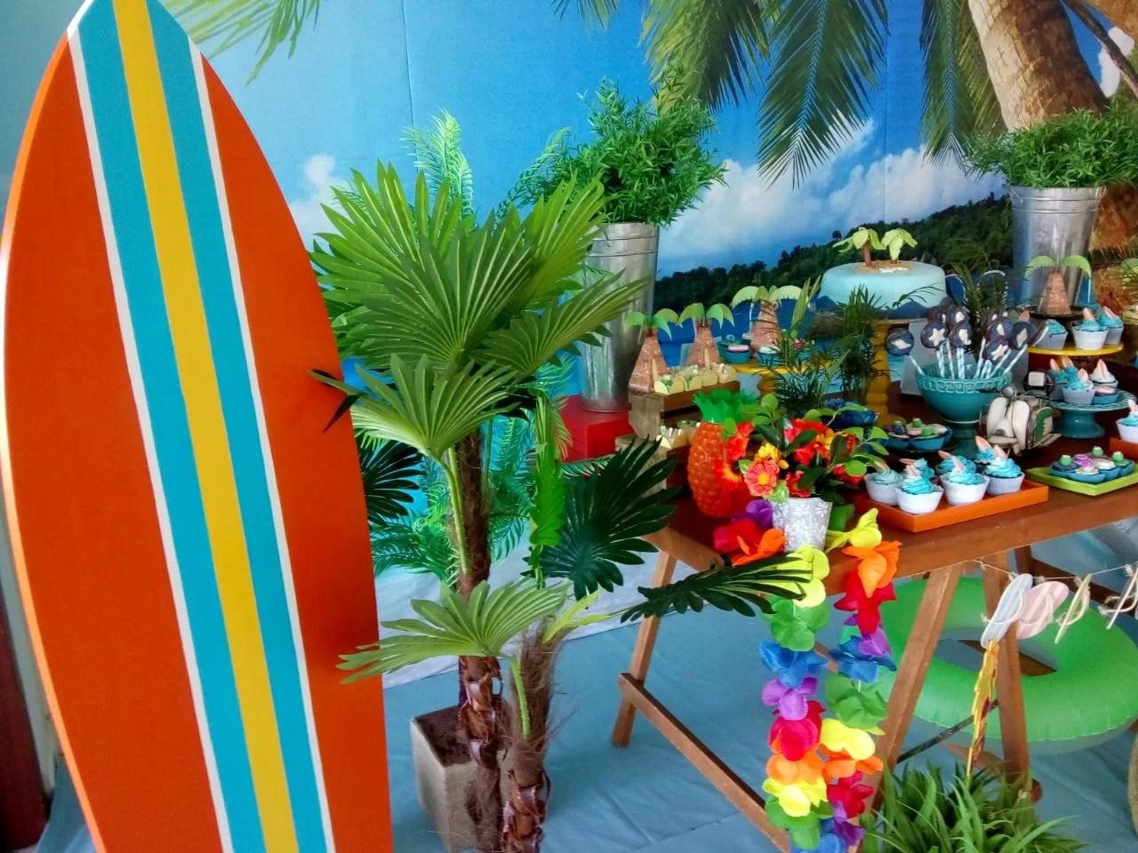 Tema de Festa Praia Master  Decorativa Festas  Decorao