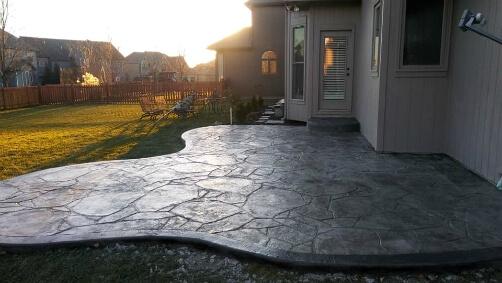 stamped concrete patios decorative