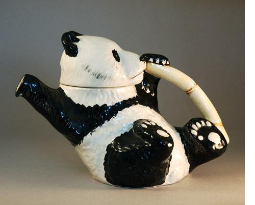 Beswick China 1930s Panda Tea Pot 34  35000  Decorative Artsnet