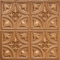Faux Copper Ceiling Tiles | Tile Design Ideas