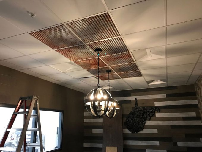 2x2 Acoustical Ceiling Tiles How To Make The Most Out Of Any Space Decorative Ceiling Tiles Inc Store