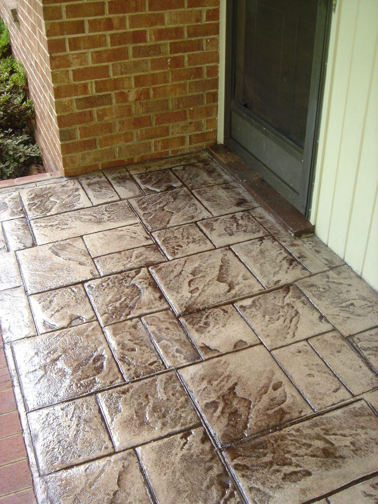 Stamped Concrete  Photos  Decorative Concrete of Virginia VA