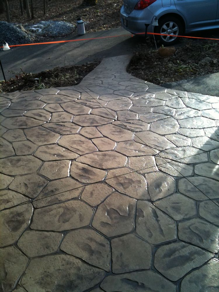 Stamped Concrete  Colors  Patterns  Decorative