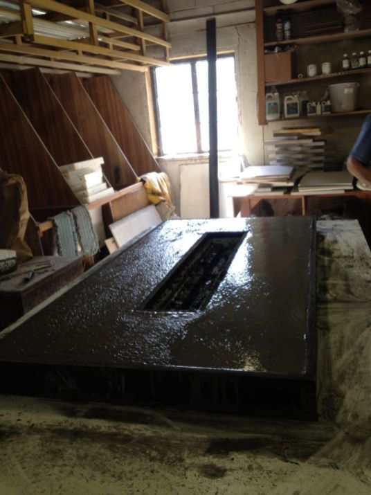 Polished Concrete Countertop-196
