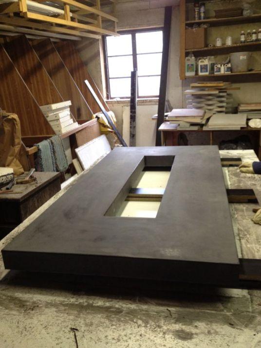 Polished Concrete Countertop-199