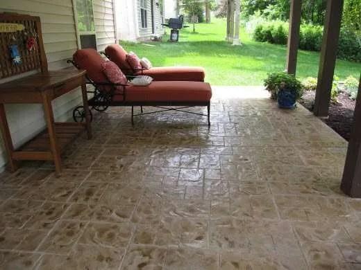 repairing damaged concrete during the