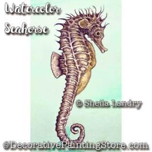 LAS18250web-Watercolor-Seahorse