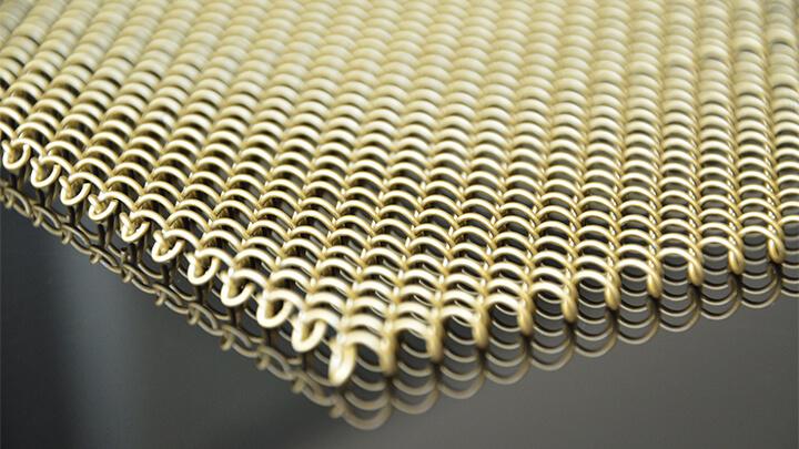 decorative fireplace mesh curtain