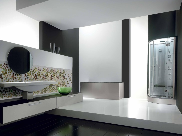 حائط حمام رائع 5 1500x1125 تصميمات حوائط مبهرة في 10 حمامات مودرن رائعة