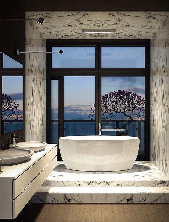 حمام 16 ديكورات حمامات في غاية الأناقة