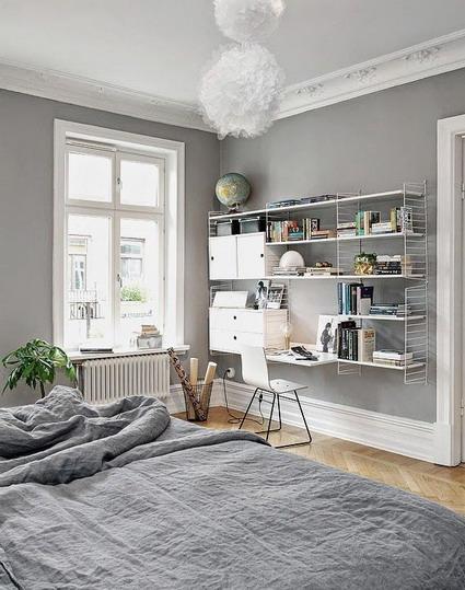 Habitaciones de color gris  DecoraTrucosDecoraTrucos