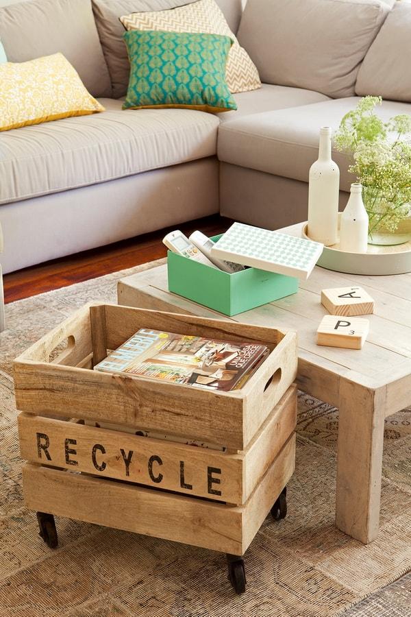 Muebles hechos con cajas de madera Muebles DIYDecoraTrucos