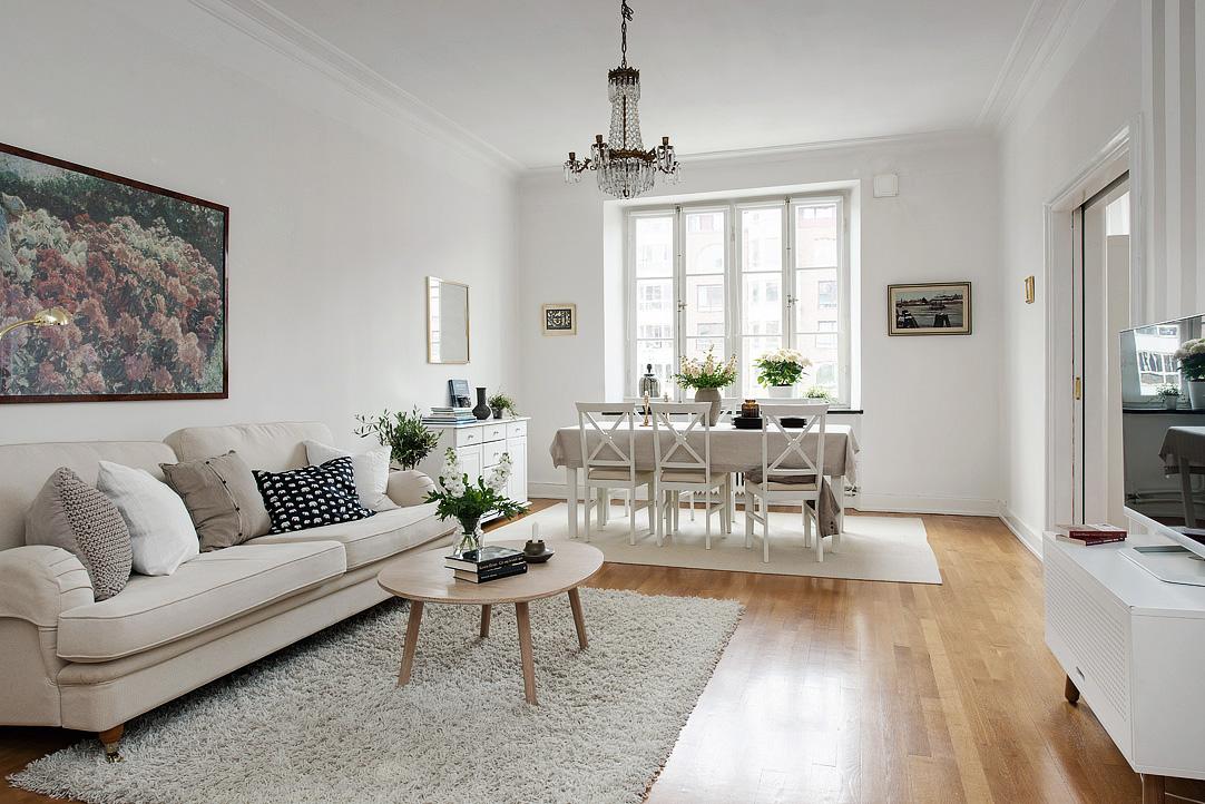 Apartamento nrdico chic Decoratualma