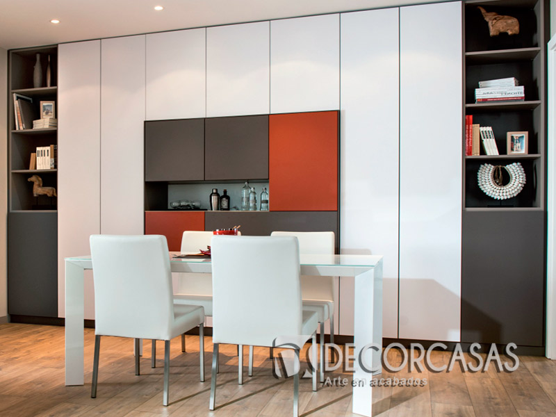 Muebles de sala en melamine muebles modernos CENTROS DE