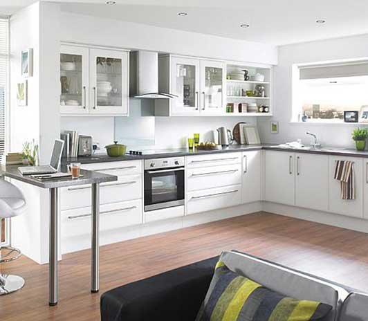 · brown, beige and green are the ideal. Decoration Tips for Setting Up a Small Kitchen for New and